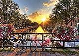 YTHK Puzzle de 1000 Piezas Canal Sunset (Amsterdam)
