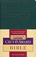 The Holy Bible: King James Version, Dark Green, Imitation Leather, Gift & Award (Bible Kjv)
