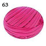 Bolsa de tela de hilo de ganchillo, para tejer, de lana gruesa, cesta de almacenamiento de alfombras, tejida a mano, accesorio de hilo grueso de 200 oz/40 oz AQ096 (63,14 oz)