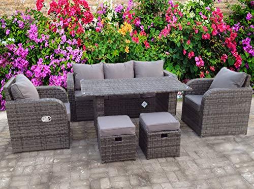 Imperm giardino mobili da giardino Copertura Copre rattan tavolo cubo sedile Outdoor Uk