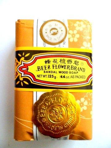 Savon Santal 125g BEE&FLOWER Chine - Pack de 3 pcs