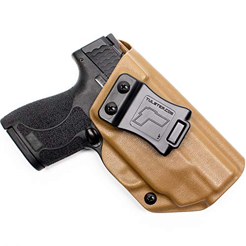 Tulster IWB Profile Holster in Right Hand fits: M&P Shield 9mm/.40 w/Integrated CT Laser