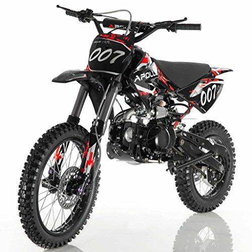 DONGFANG DB-007 125cc Manual Clutch 4 Gears Dirt Bike Kids Red