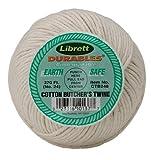 Librett Durables Butchers Twine, Cotton, 370-Feet, Made in America
