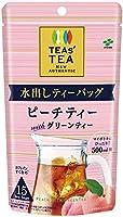 伊藤園 TEAS'TEA ニュー オーセンティック 水出しティーバッグ ピーチティーwithグリーンティー 15袋×10袋入