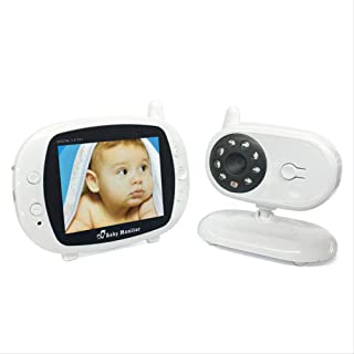 YIBILE 3.5 Inch Video Baby Monitor with Camera Wireless LCD Screen Infrared Night Vision Digital Wireless Video Baby Monitor