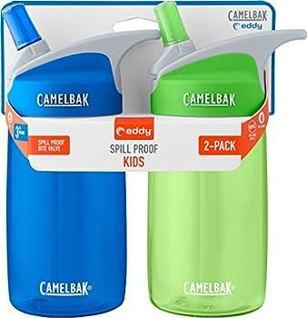 CamelBak Eddy Kids 2-Pack Waterbottle Blue/Grass 4 L
