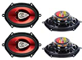 "Best 5x7 Speakers - BOSS CH5730 5x7"" 600W 3-Way Car Coaxial Audio Review"