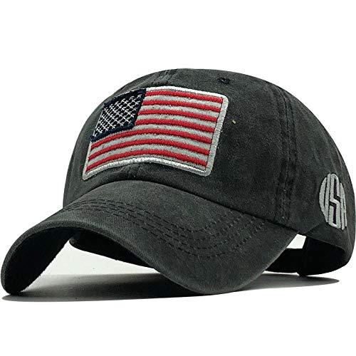 YDXC Gorra de béisbol Lavada de algodón Sombrero Snapback Gorras de béisbol Ajustables para Hombres Casquette Aplicar a la Pesca Deportiva Etc-04_55-60Cm