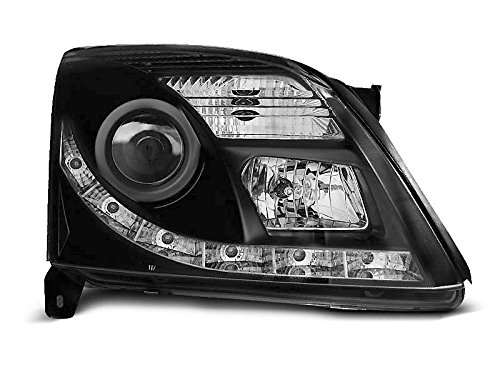 Shop Import koplamp – Vectra C 02-05 Daylight DRL LED zwart (P78)
