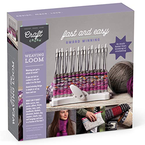 Craft Crush Weaving Loom Kit
