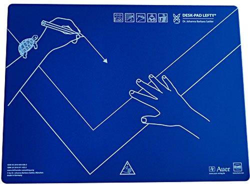 KUM 906.01.19 Schreibunterlage, Kunststoff, Linkshänder, 50 x 43 cm