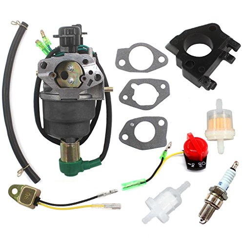 AISEN Carburetor for Cummins Onan 6500 HomeSite Power 13HP 5KW 5.5KW 5000 5500 WATT Gas Generators Spark Plug Fuel Filter Carb Gasket