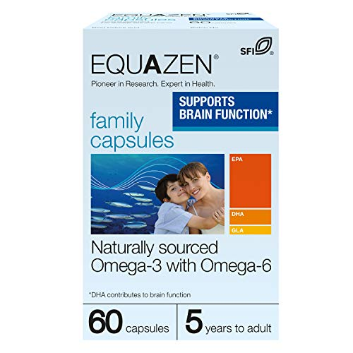 Equazen Eye Q Omega 3 & 6, 60 tapasules