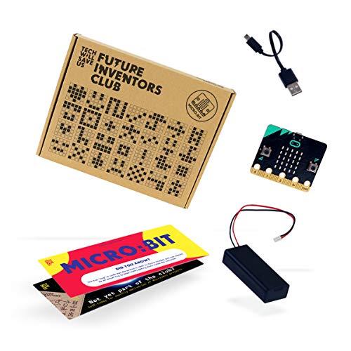 Tech Will Save UsMicro: bot Kit   BBC Microbit Kit de Codage Robot, 11 Ans et Plus