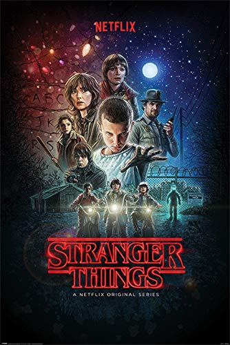 Stranger Things Póster, sin laminar, Multicolor, 61 x 91.
