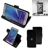 K-S-Trade® Case Schutz Hülle Für Marshall London Handyhülle Flipcase Smartphone Cover Handy Schutz Tasche Bookstyle Walletcase Schwarz (1x)