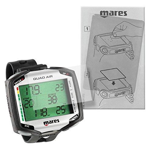 Mares Quad Displayschutz, Transparent,...