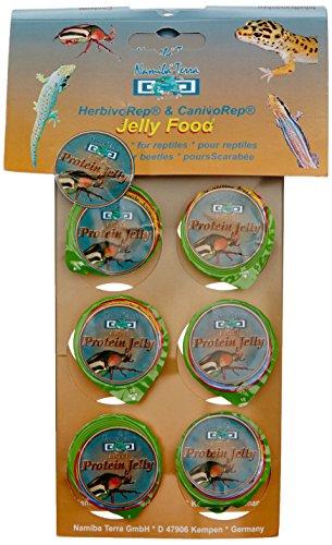 Namiba Terra 0298 Beetle und Insect Protein Jelly für Insekten 16 g, 6-er Pack