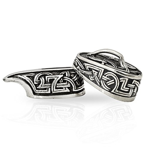 High-Quality Knife Bolsters Norse Set for Making Custom Handles - Nickel Silver