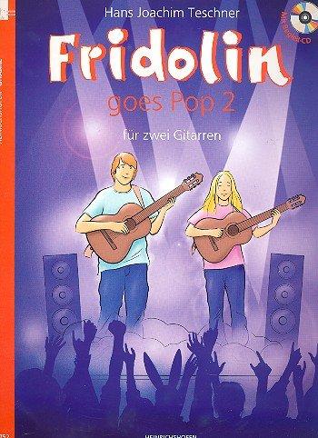HINRICHSHOFEN Verlag Pop Goes Pop-Art 2 – 12 liedjes voor gitares-cd Twee inclusief [import Duits]