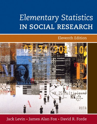 Elementary Statistics in Social Research (11th Edition)