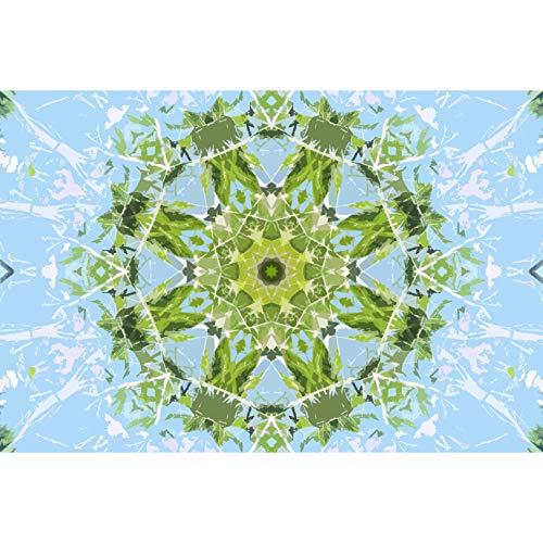 CXCF Puzzle Mandala Green Blue Puzzles Dekoration Dekompression Kollektion Romantisches Geschenk - 60634(Size:1000 pc)