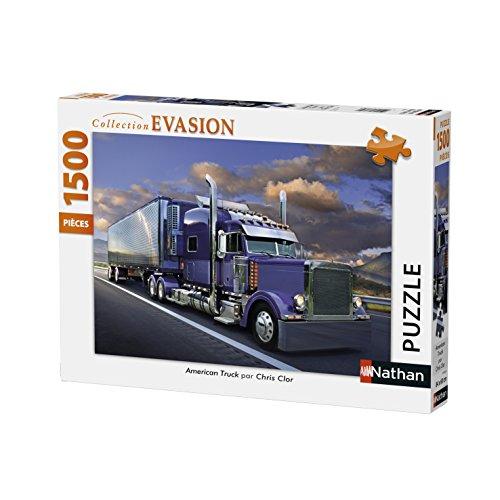 Nathan–87782–Puzzle American Truck 1500Piezas