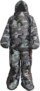 Baosity Wearable Sleeping Bag Easy On Off for Hospital Accompany Outdoor CampingTrip