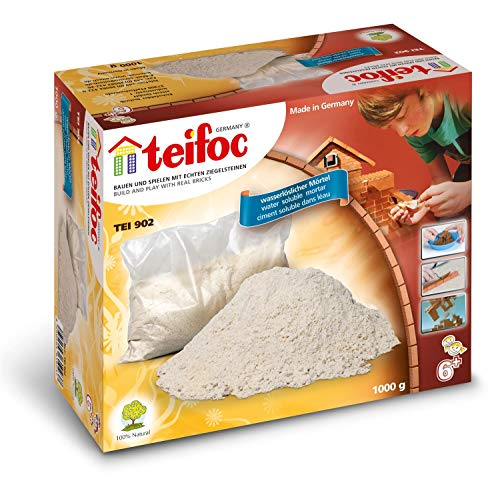 Eitech TEI 902 Teifoc Steinbaukästen 902-Zement, Multi Color, Zement 1000 g