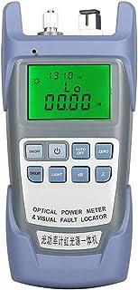 Goeco - Tester per cavi in fibra ottica, 10 mW, 10 KM, localizzatore visivo di guasto, contatore di potenza ottica portati...
