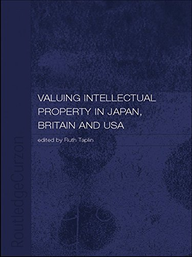 Valuing Intellectual Property in Japan, Britain and the United States (English Edition)
