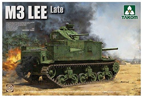 TAK2087 1/35 US Medium Tank M3 Lee Late