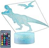 A-Generic Lámpara de lámpara de ilusión Visual de Dinosaurios...