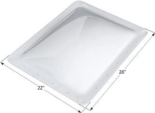 ICON 01853 Single Pane Exterior Skylight SL1824W-White, 24
