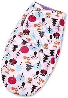 RubyShopUU Baby Wrap Soft Envelope Blankets Newborn Swaddle Wrap Infant Sleeping Bag Warm Bedding Double Layer Short Plush Swaddle 28X41cm