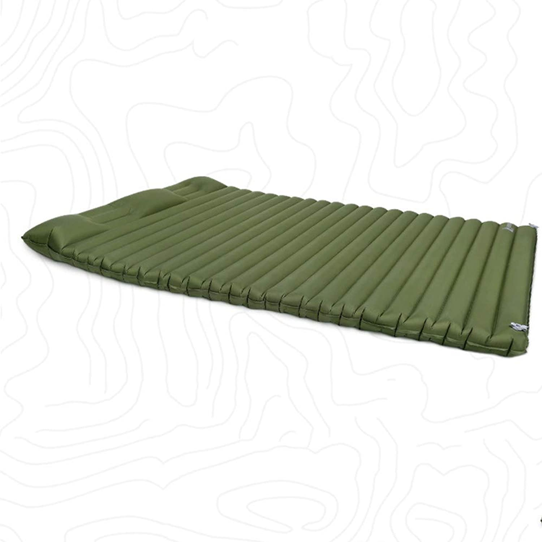 LAIABOR Outdoor Leichtbau-Doppel-Campingausrüstung Feuchtigkeitspolster aufblasbare Bett Matte tragbaren Zelt Schlafpolster Luftkissen
