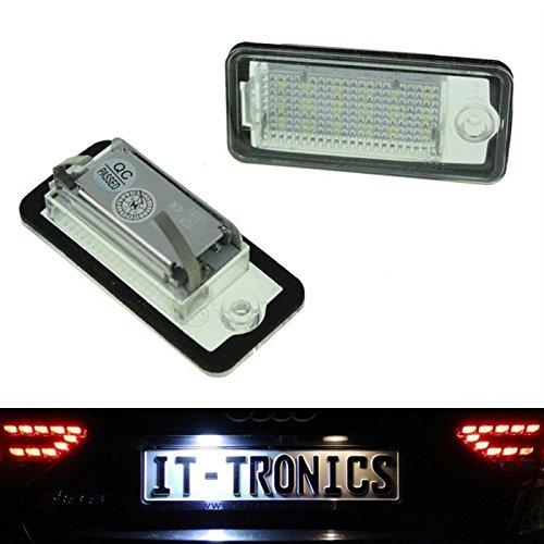 Kennzeichenbeleuchtung LED passend für Audi A3 8P, A4 B6+B7 A5 Cabrio, A6 4F, Q7