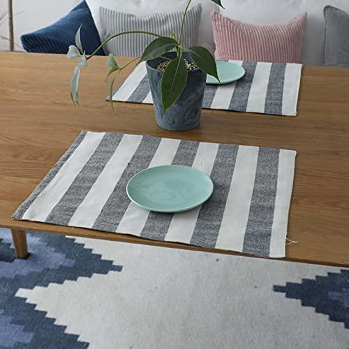 Mantel Individual Geométrico Simple De Estilo Moderno Mantel Grueso Impermeable Y A Prueba De Aceite Mantel De Café Adecuado para Restaurante Cafetería