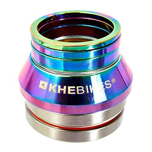 KHEbikes KHE BMX X10 - Juego de dirección para Bicicletas (rodamientos industriales, 3 espaciadores)