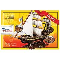 3Dパズル 帆船 (ミスティック) SP07-0174