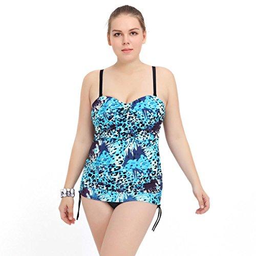 SZH YIBI Mme Grande Scission Maillot de Bain Taille de Bikini Jupe Haute /élasticit/é Maillot Europe et aux /États-Unis de Grande Taille Maillot de Bain Maillot de Bain
