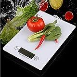 HEWEI Bilancia da Cucina Digitale Bilancia per Alimenti Multifunzionale ad Alta precisione...