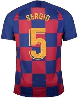Sergio Busquets #5 Men's Football Jersey - Fans Sport Soccer T Shirts Short Sleeve Jerseys