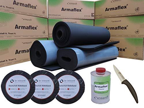 Armaflex Set Camperset S zur Isolierung von Fahrzeugen Armaflex XG 19 mm (3x Armaflex XG 19 mm selbstklebend, 3x Tape