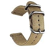 Zhouzl Accessoires de Sport Bracelet de Montre en Nylon Lavable Accessoires...