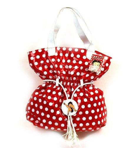 Betty Boop Polka Punkt Luxus Strandtasche