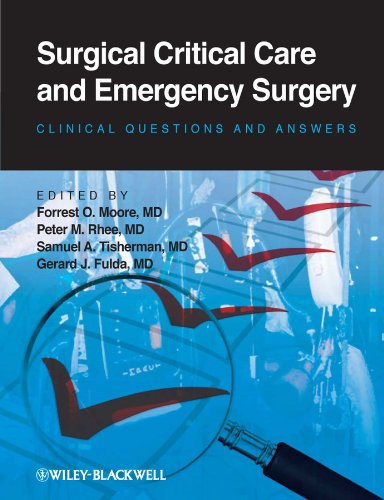 51fEO3krhWL - Surgical Critical Care and Emergency Surgery: Clinical Questions and Answers
