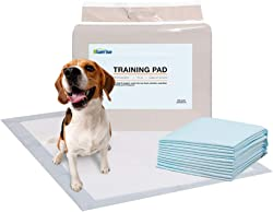BR Bluerise Puppy Pads 100 Counts Absorbent Dog Pads Quick Drying Pet Pads Prevent Leakage Dog Training Pads and all Kinds of Pets Pads Training Pads for Dogs 22 x 22 Puppy Pads