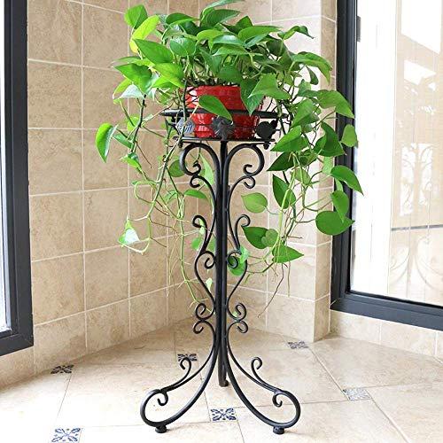 Soporte para macetas - Soporte para plantas de metal Soporte para macetas de esquina Soporte para macetas Estante para flores Escalera Jardinera para hierbas Estantes para jardín Pasos para interiores
